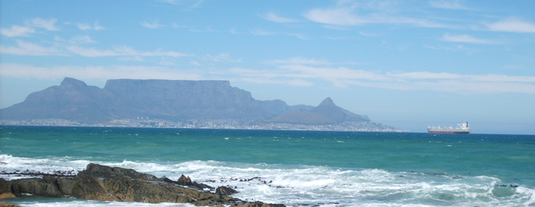 Table Mountain from Blauwberg